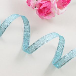 Sheer ribbon, Turquoise, 0.6cm x 2m, 1 pieces, (SD227)